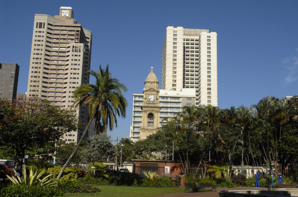 Durban, KwaZulu-Natal province: Buildings in the city centre
