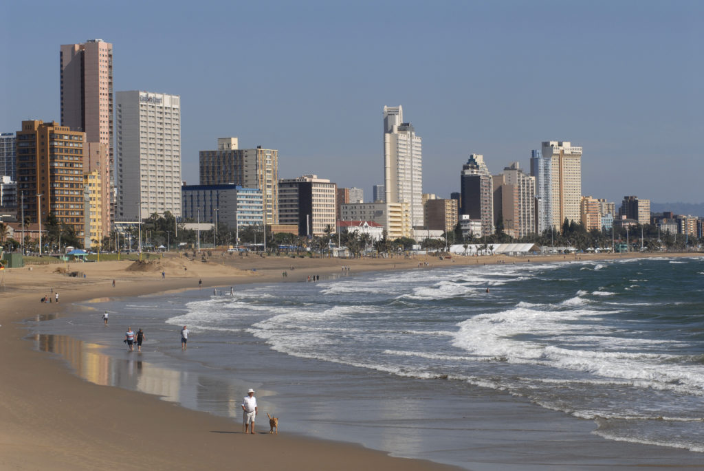 Durban, KwaZulu-Natal province: South Beach