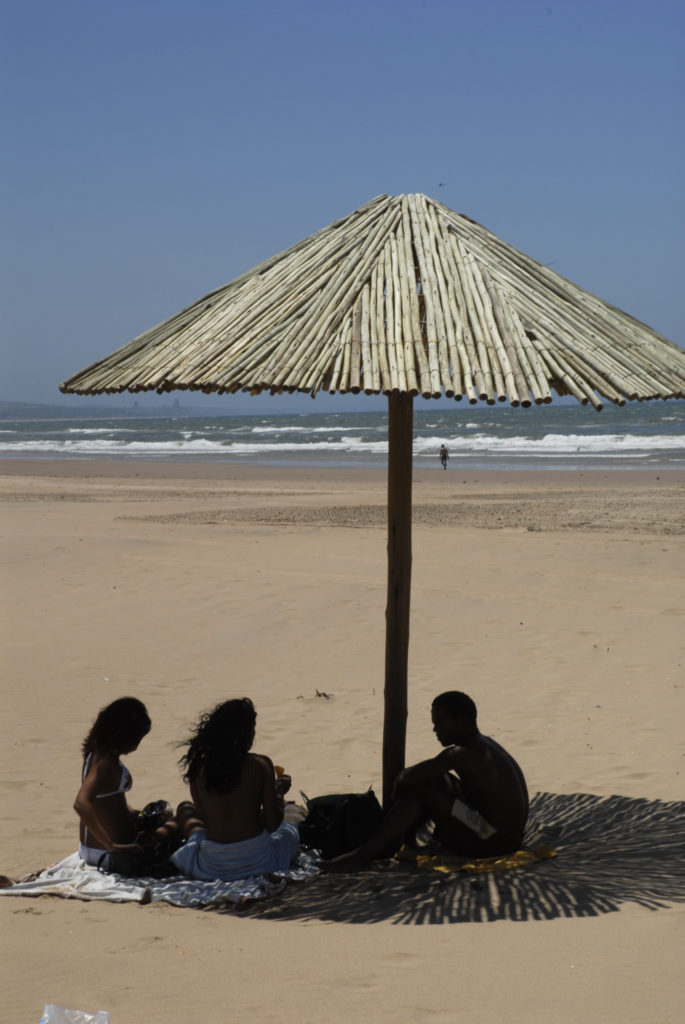 Beach scene, Durban north