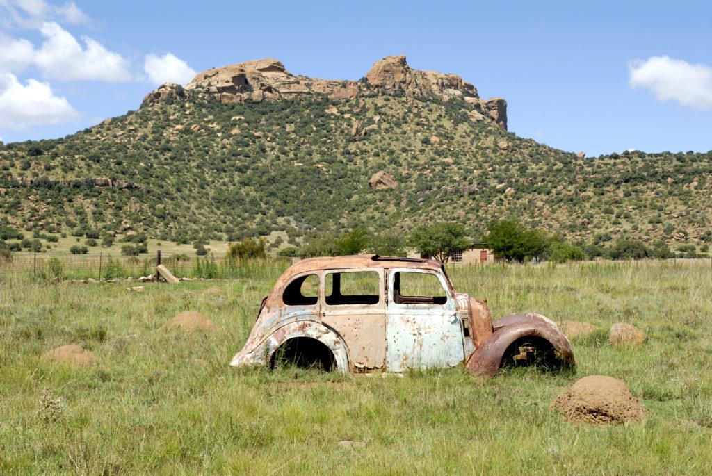 South Africa, Free State: Koranna Mountains