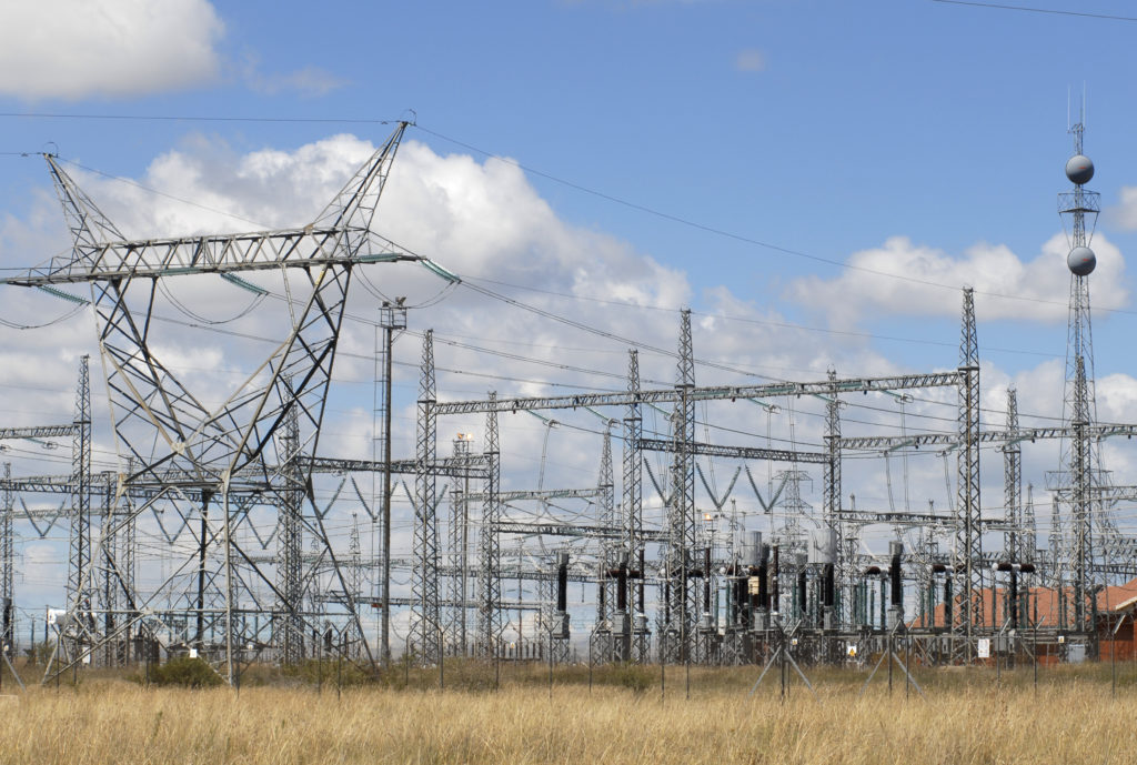 Free State province: The Merapi power substation
