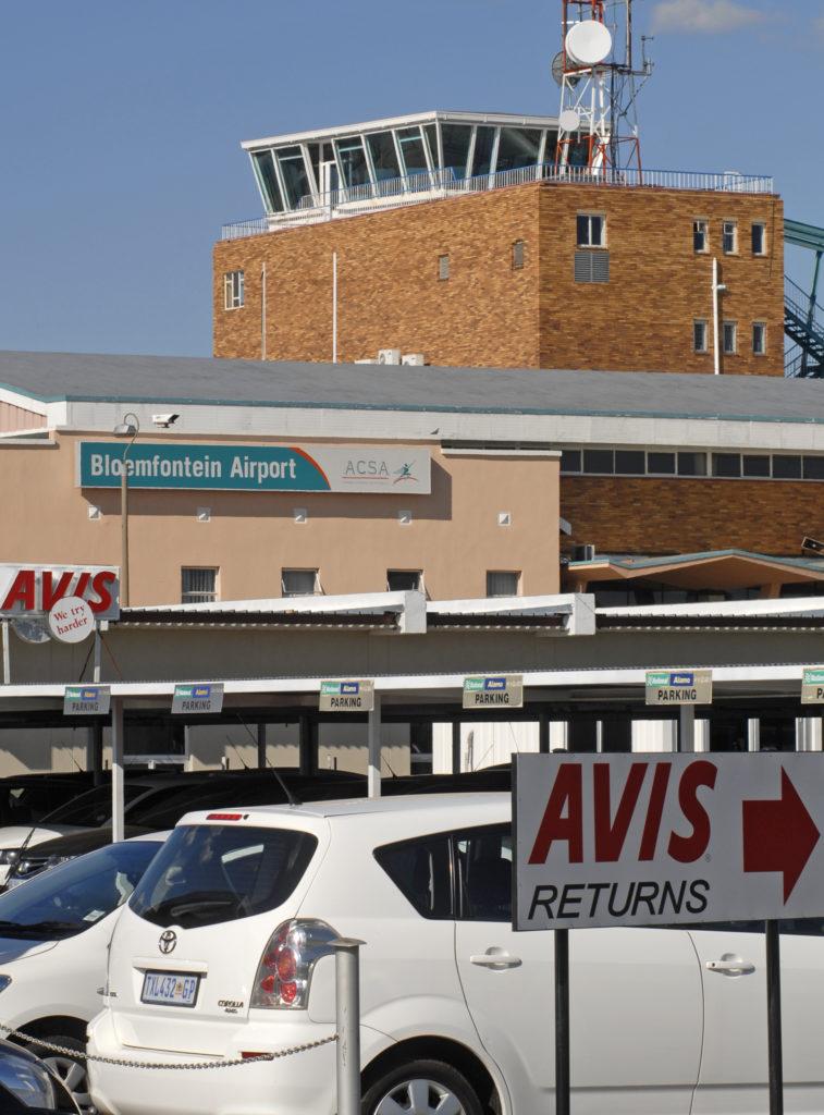 Free State province: Bloemfontein International Airport
