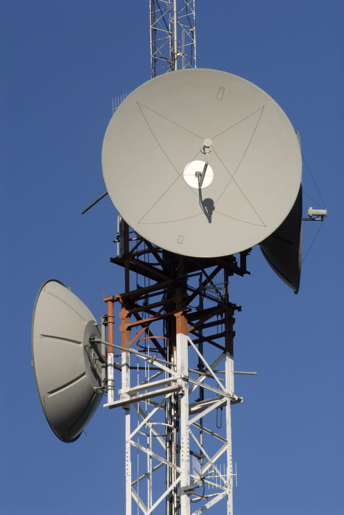 Free State: Microwave and radio communication on Naval Hill, Bloemfontein