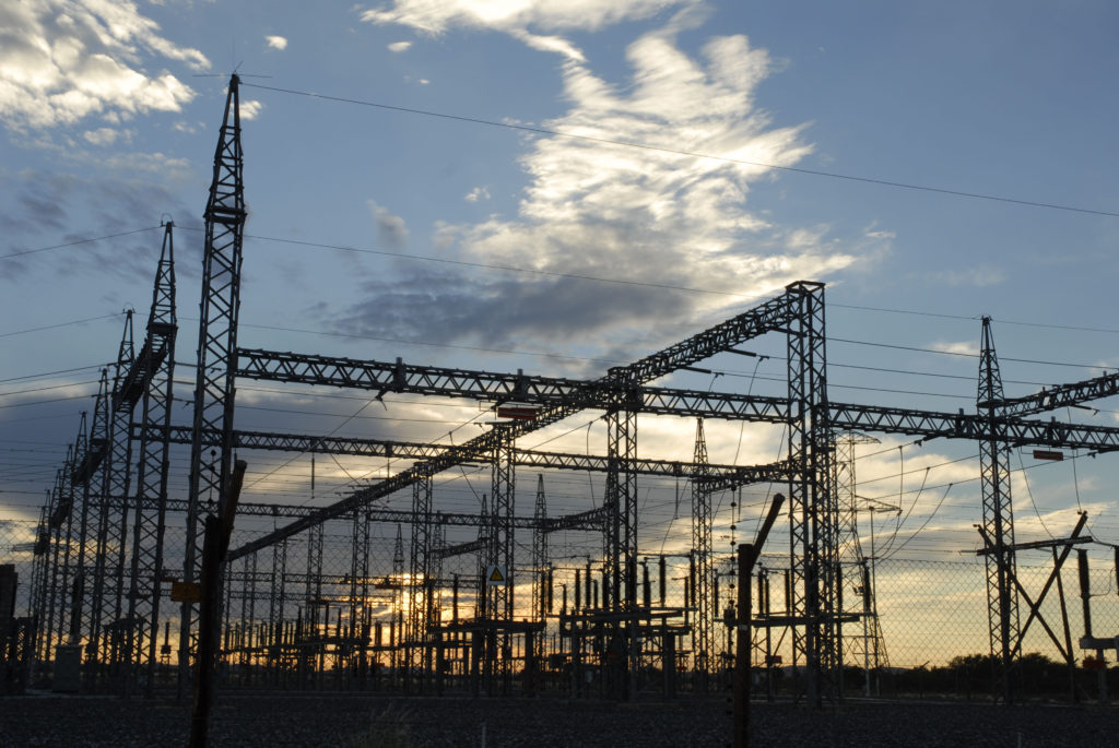 Northern Cape province: The Gordonia substation