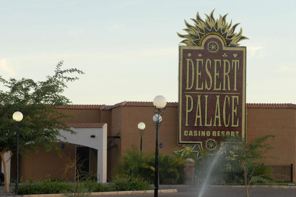 Upington, Northern Cape: The Desert Palace Casino in the Kalahari