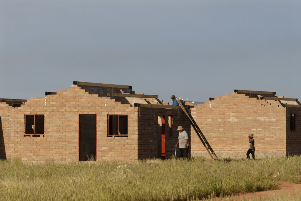 Upington, Northern Cape: The Northern Cape Community Builders construct 100 low-cost houses