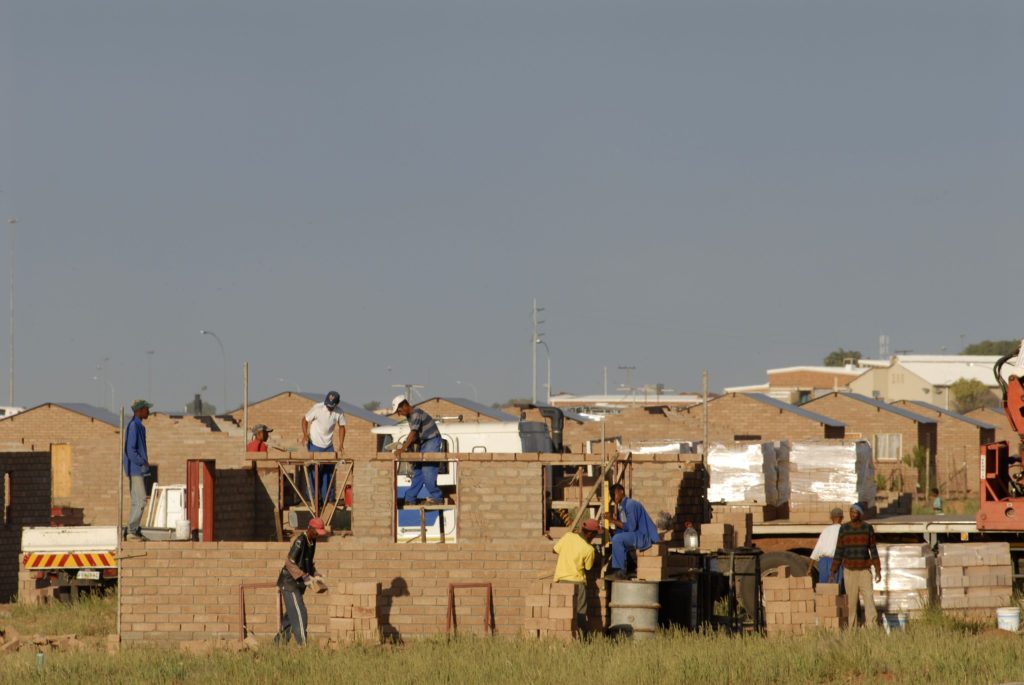 The Northern Cape Community Builders construct 100 low-cost houses