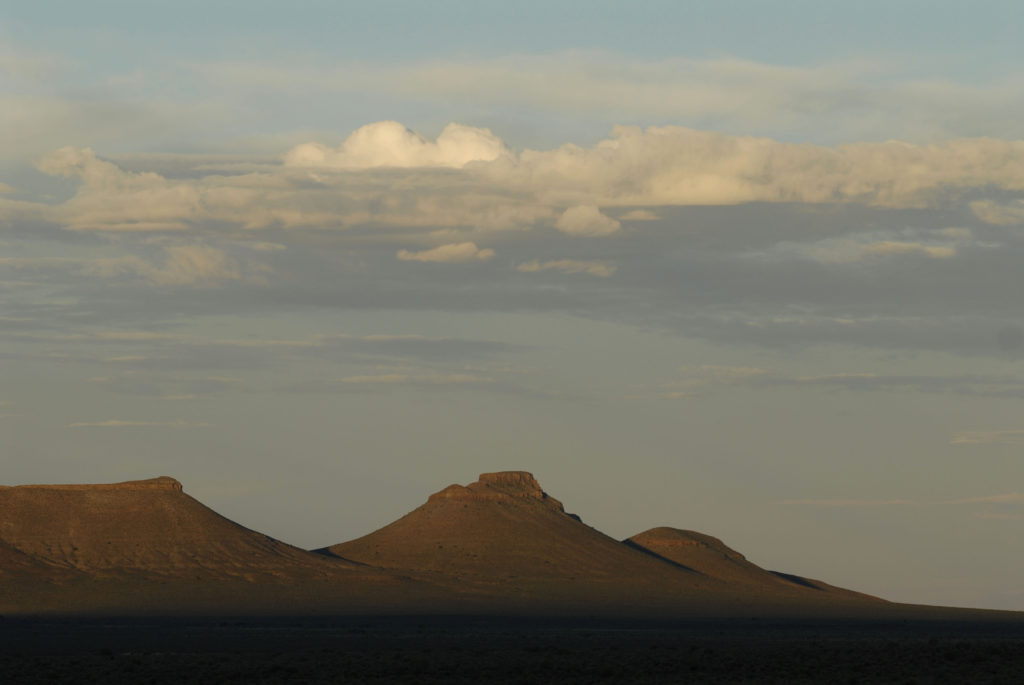 Northern Cape province: Sunset in the Karoo