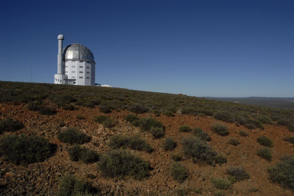 The Sutherland Observatory is home to the world's largest telescope