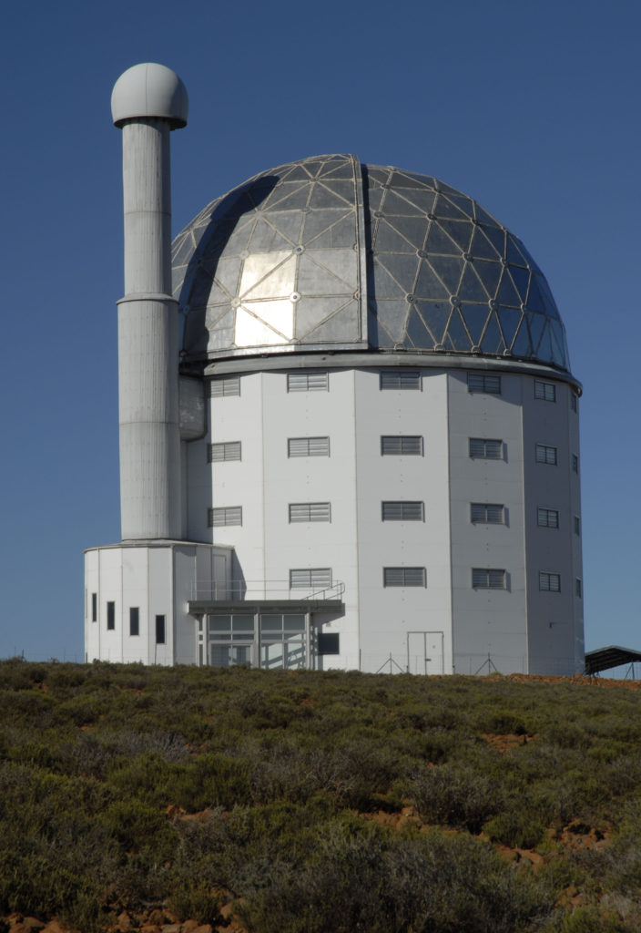 The Sutherland Observatory is home to one of the world's largest telescopes