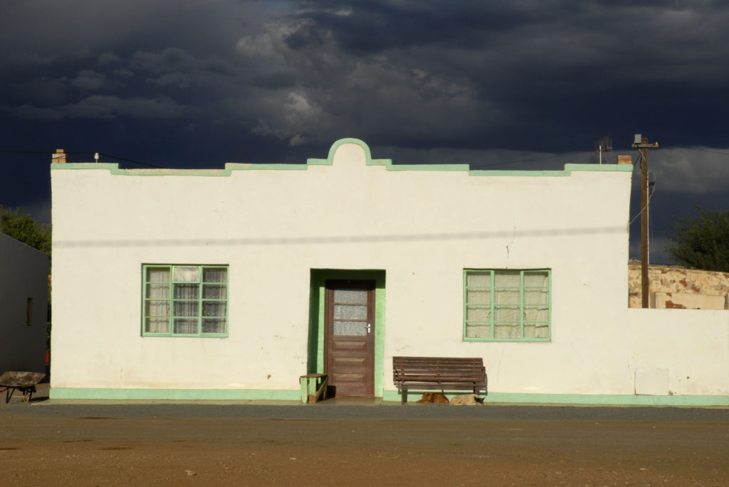 South Africa, Northern Cape Province: An old building in Carnarvon