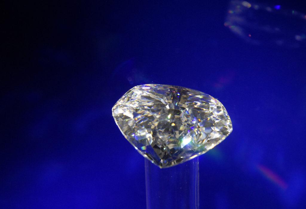 A replica of the famous Centenary diamond