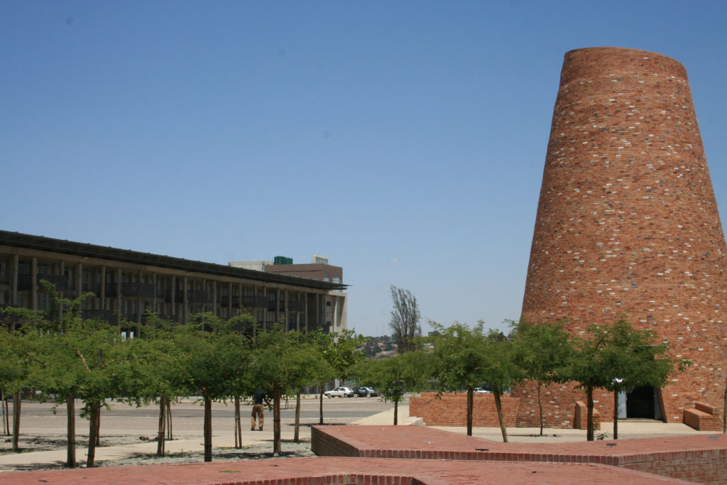 Freedom Square in Kliptown, Soweto, honours those who drew up the Freedom Charter in 1955