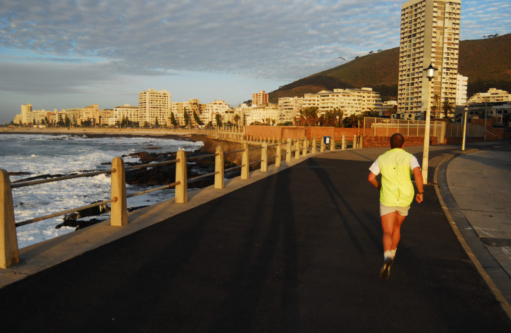 Cape Town, Western Cape province: Jogging in Sea Point
