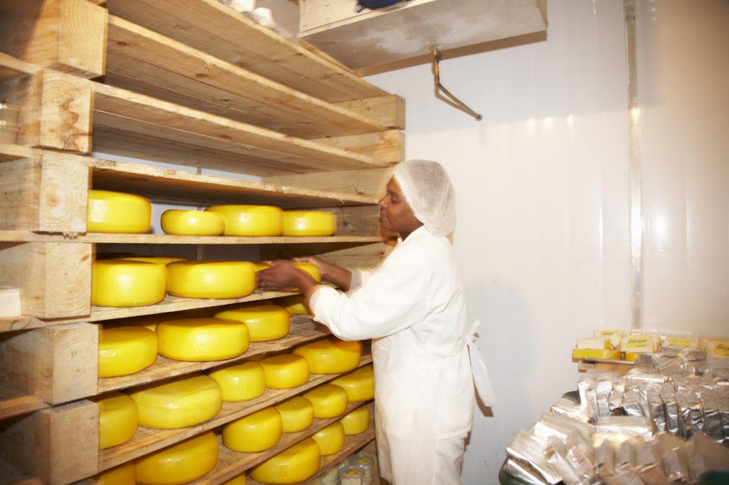 Eunice Madlala, Swissland Cheese farm, KwaZulu-Natal Midlands