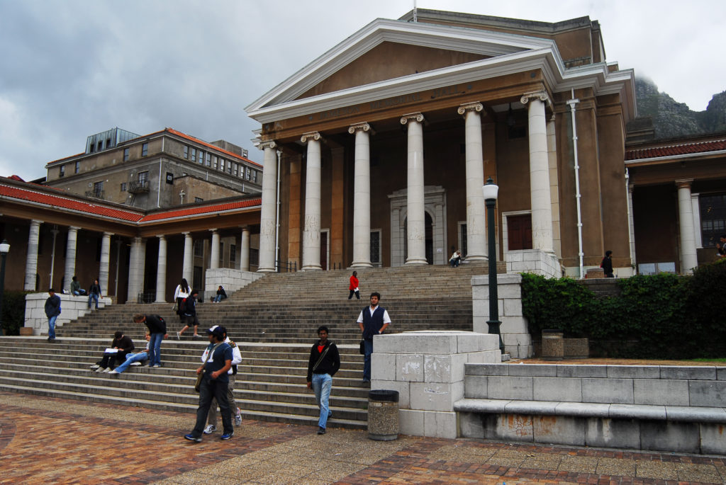 The University of Cape Town is a world-class institution