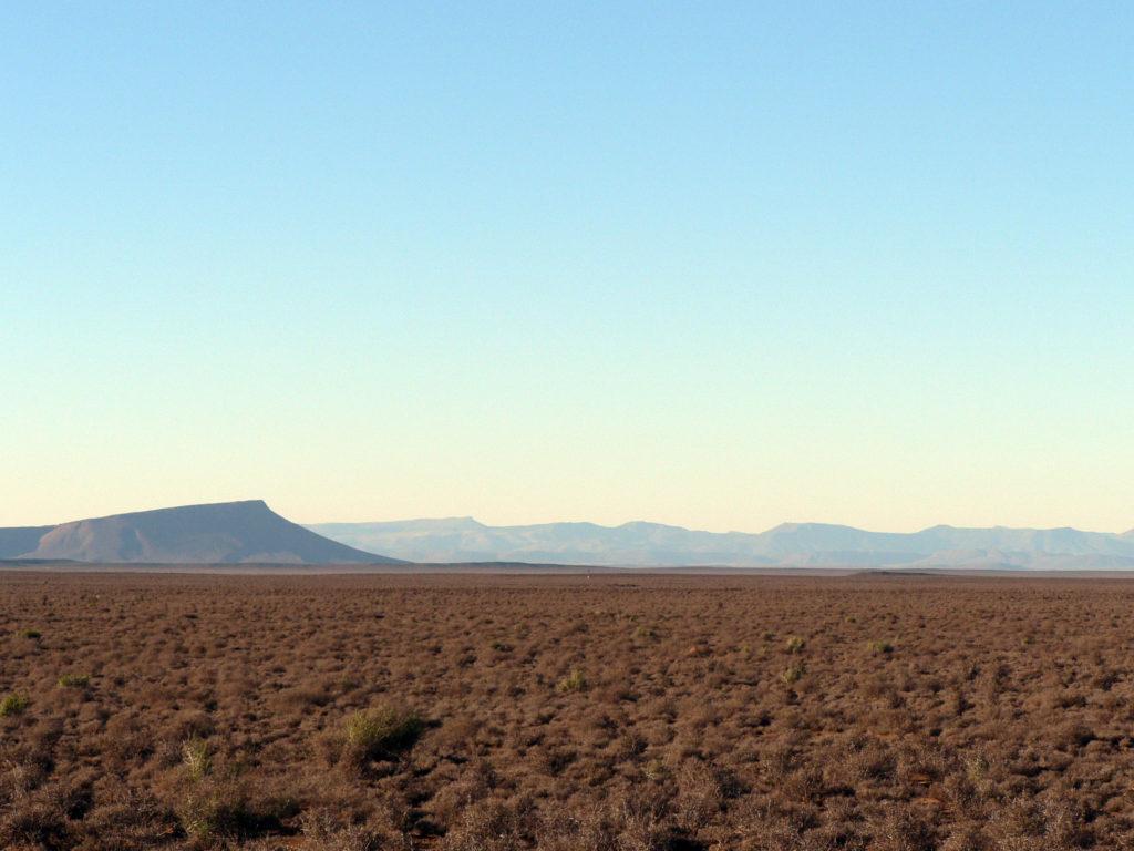 Western Cape province: The Karoo is a semi-desert region