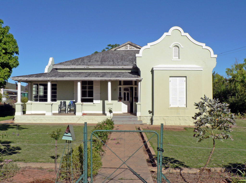 Western Cape province: House in a Karoo town