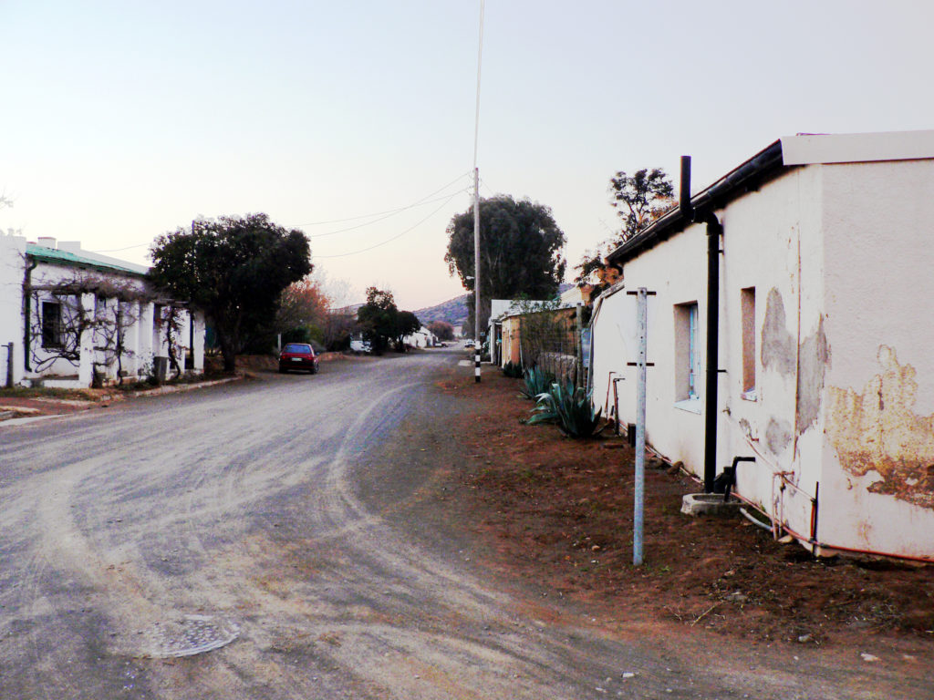 Free State province: The town of Philippolis