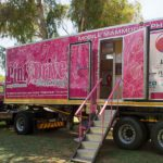 breast cancer pinkdrive truck