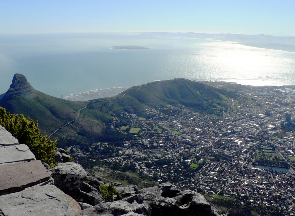 Cape Town, Western Cape province: A view of the city bowl