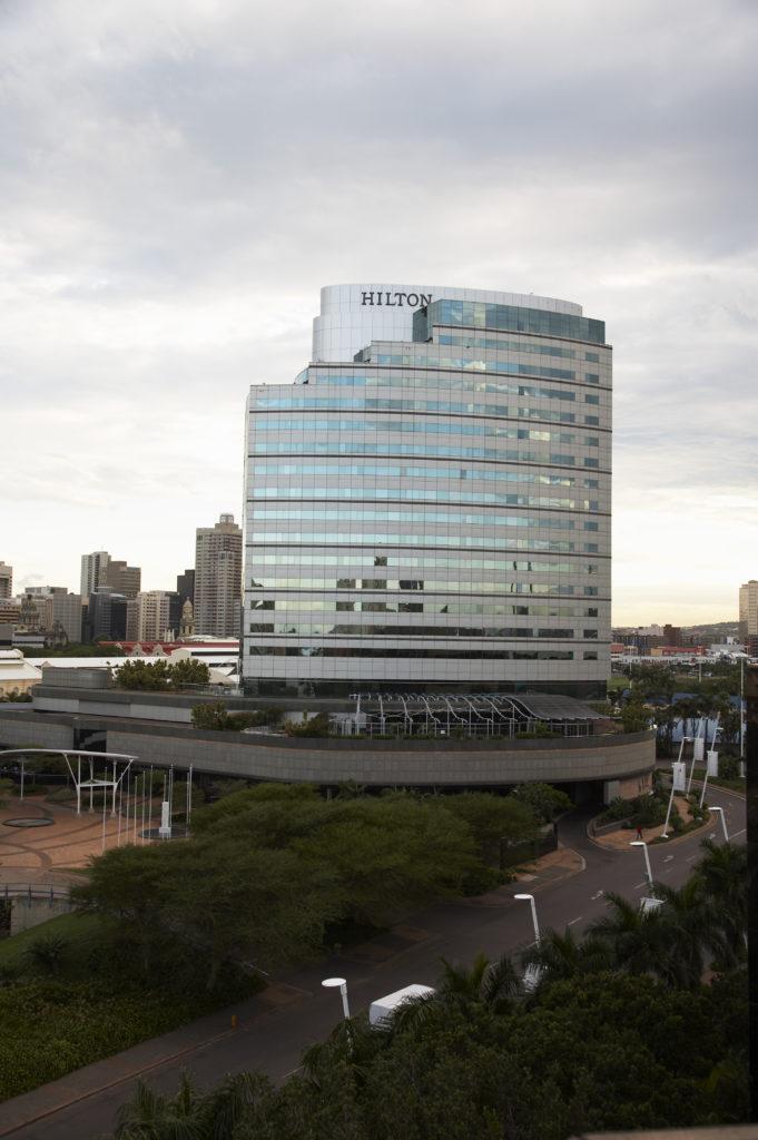 Durban, KwaZulu-Natal province: The Hilton Hotel