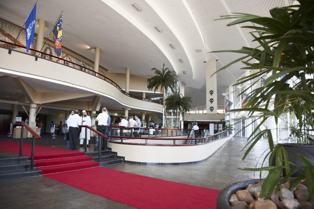 Interior of the Durban International Convention Centre