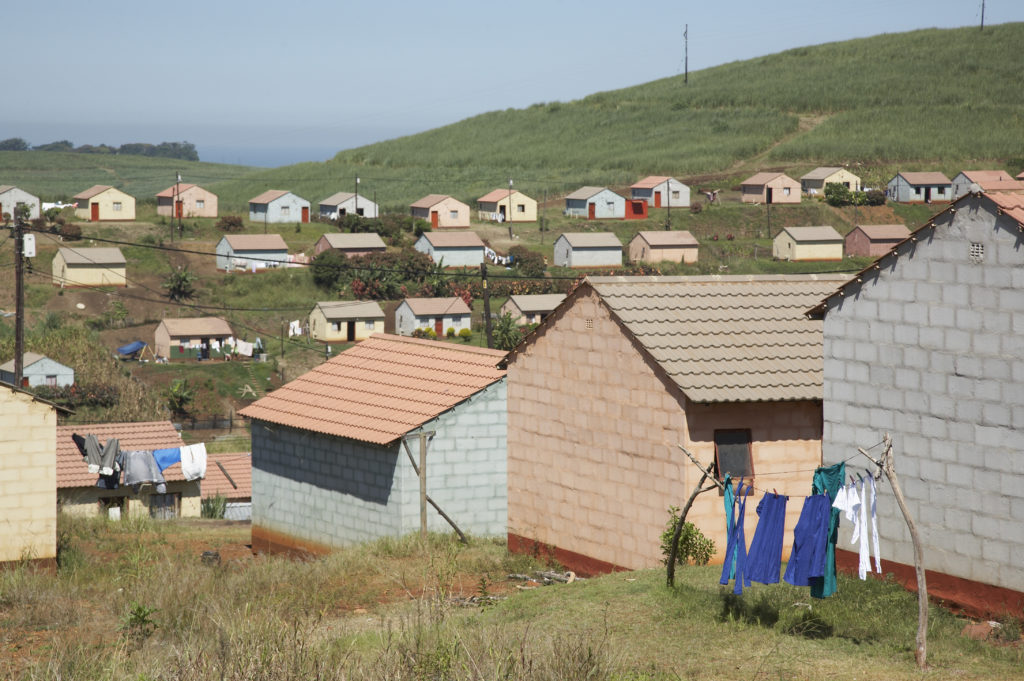 KwaZulu-Natal North Coast: Reconstruction and Development Programme (RDP) houses