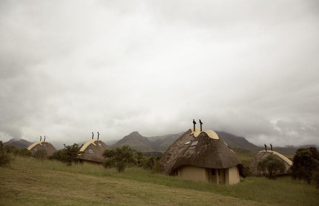KwaZulu-Natal province: Didima holiday resort in the Drakensberg