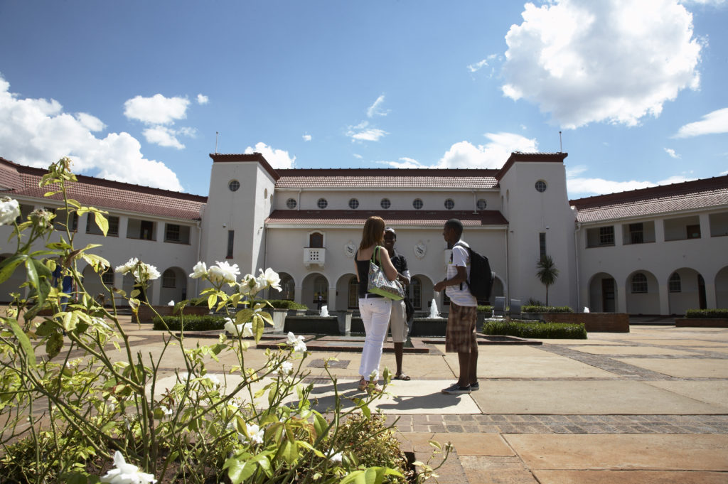 Potchefstroom, North West: Students at the University of North West