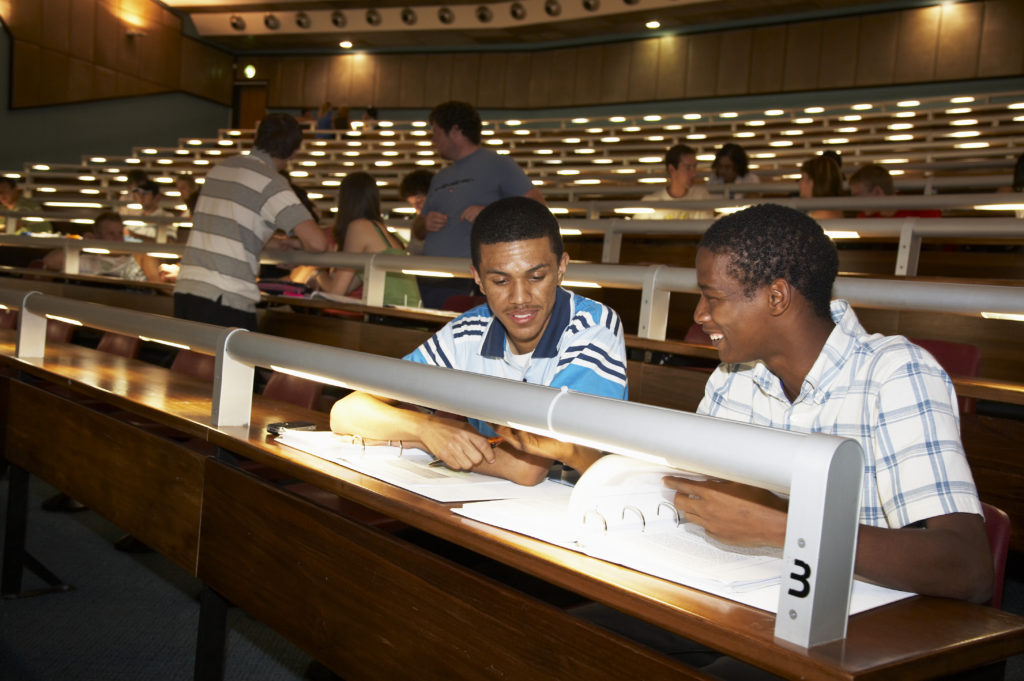 Students at the University of North West