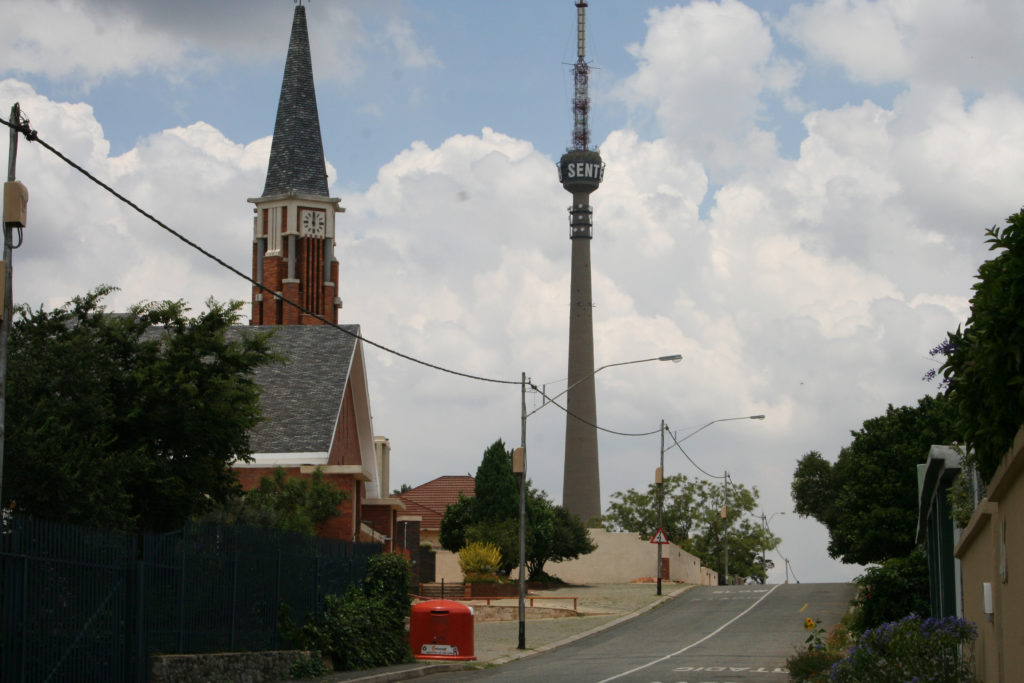 Johannesburg, Gauteng province: A view of the Brixton Tower