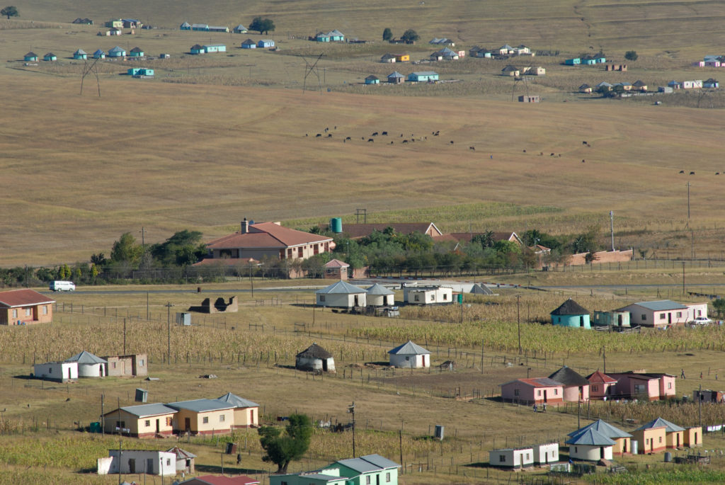 Eastern Cape province: Nelson Mandela grew up and went to school in Qunu