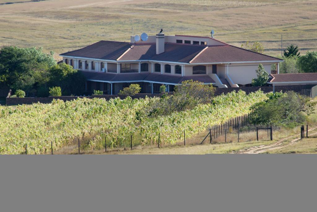 Nelson Mandela's new home