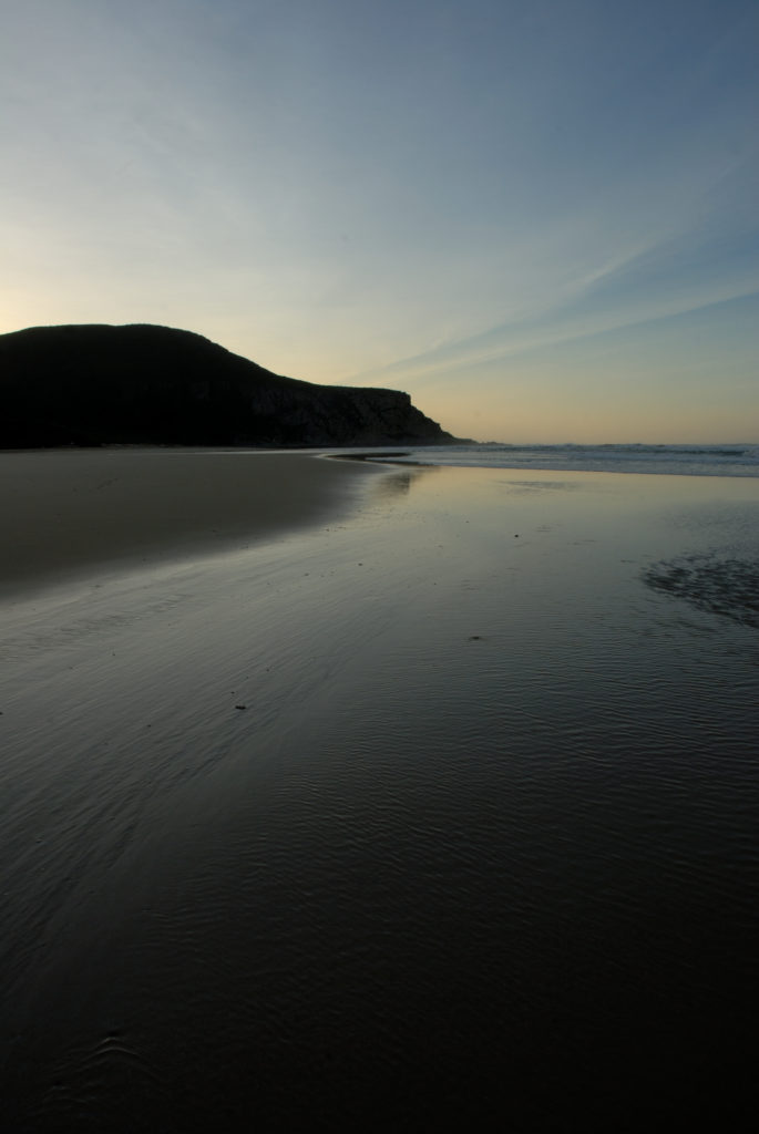 Eastern Cape province: Early morning on a beach in Nature's Valley