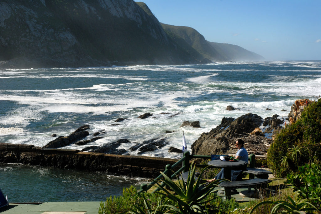 Eastern Cape: The Storms River mouth in the Tsitsikamma National Park