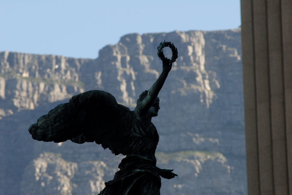 Cape Town, Western Cape province: Statue of an angel