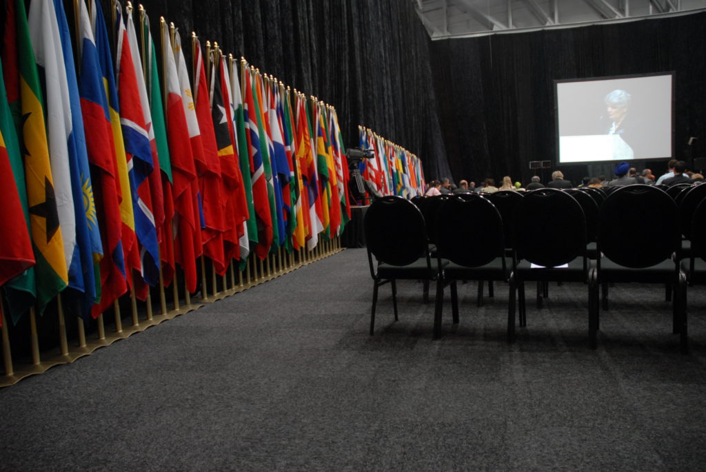Inside the Cape Town International Convention Centre