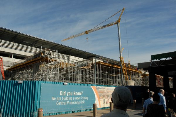 Cape town Airport undergoing renovations