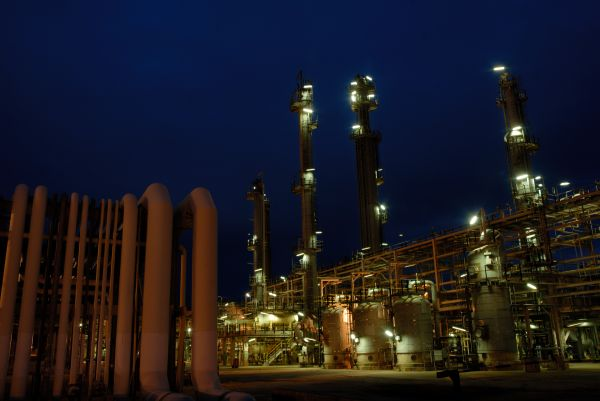 Mossel Bay, Western Cape: The PetroSA gas-to-liquids refinery