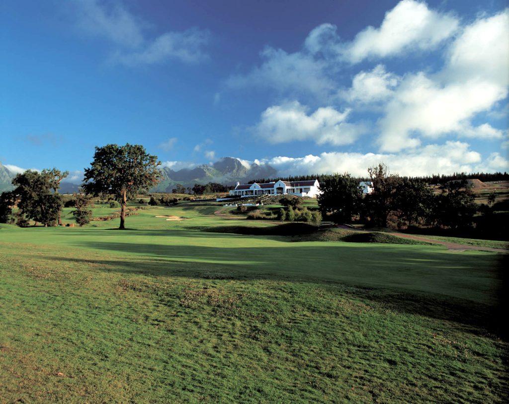Kleine Zalze Wineland and Golf Estate near Stellenbosch