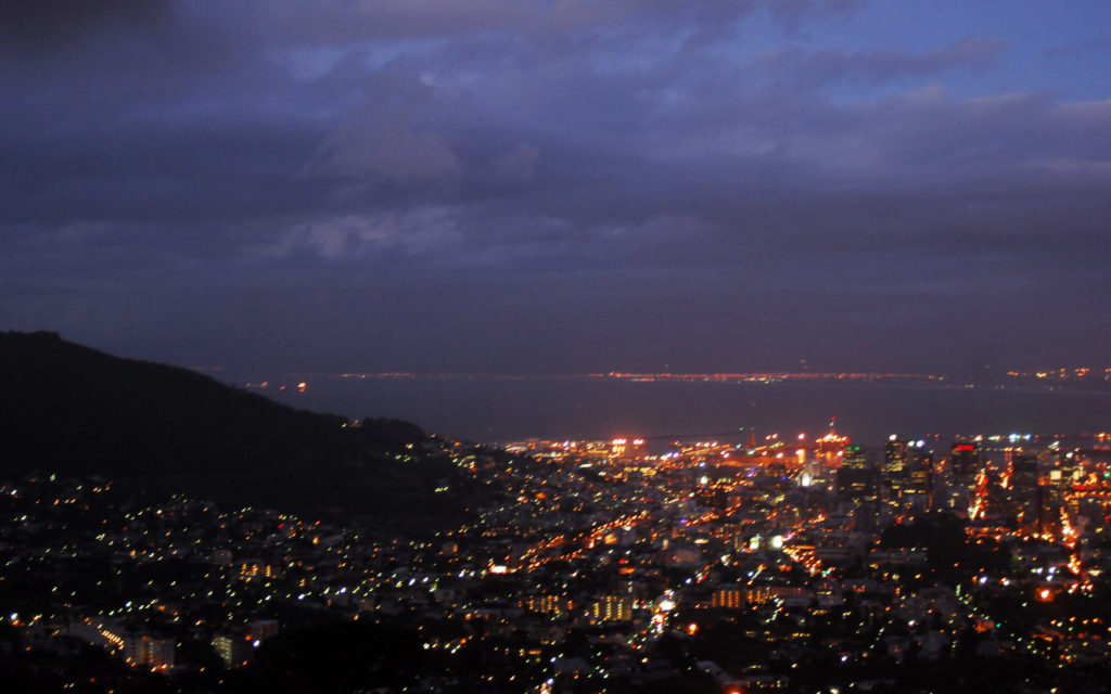 Western Cape, City Bowl and Signal Hill