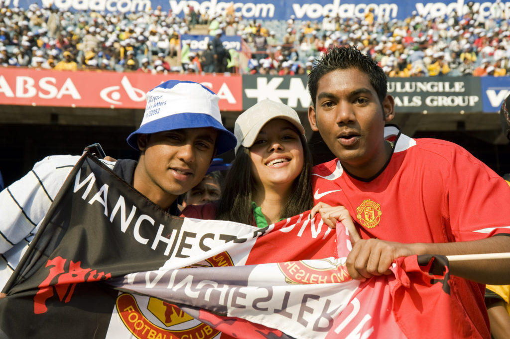 Soccer Vodacom Challenge final - Manchester United vs. Kaizer Chiefs