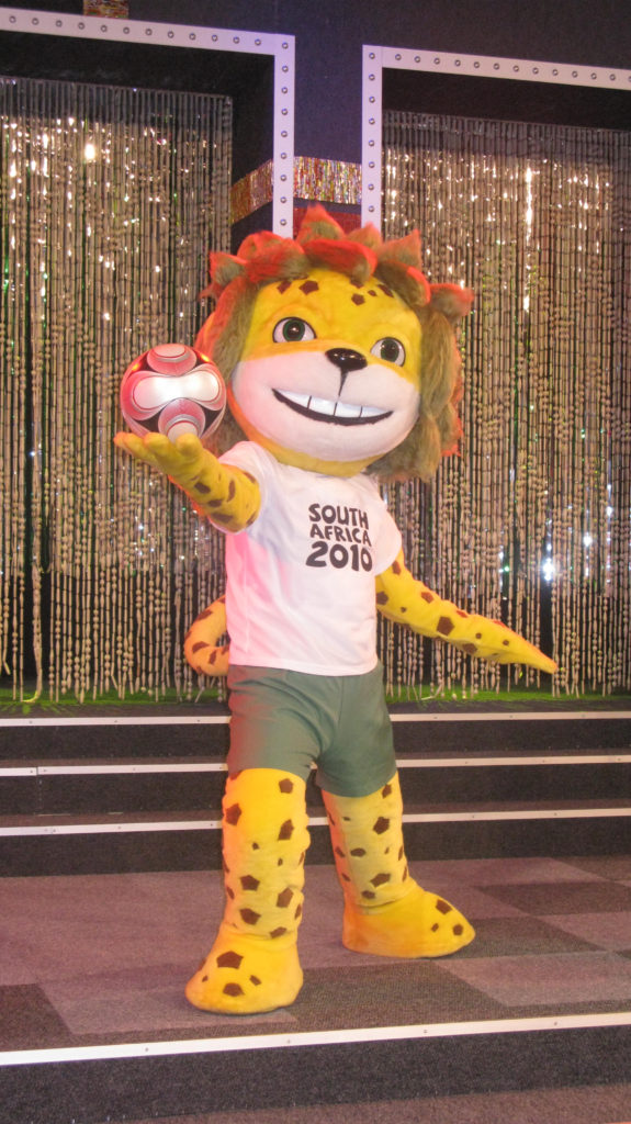 2010 Fifa World Cup: Zakumi, the official mascot