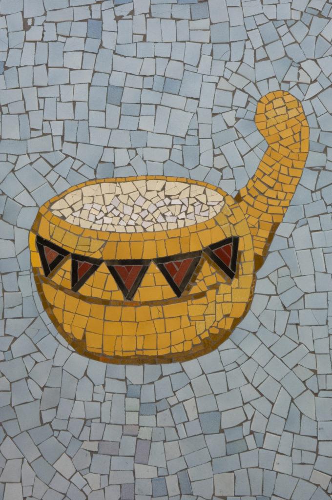 Johannesburg, Gauteng: Detail of artwork