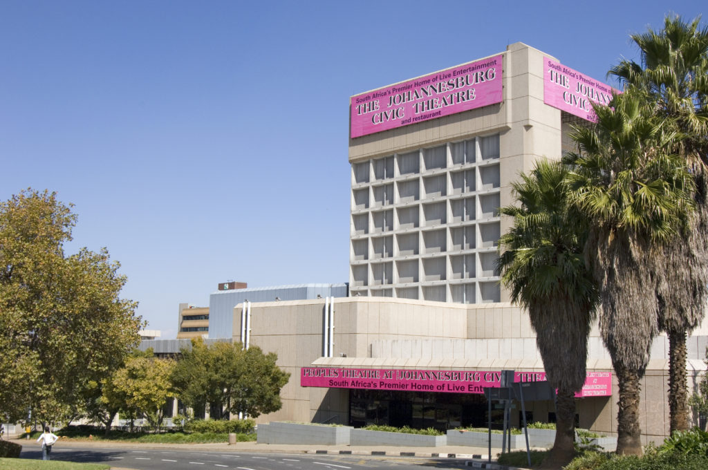 Johannesburg, Gauteng province: The Civic Theatre