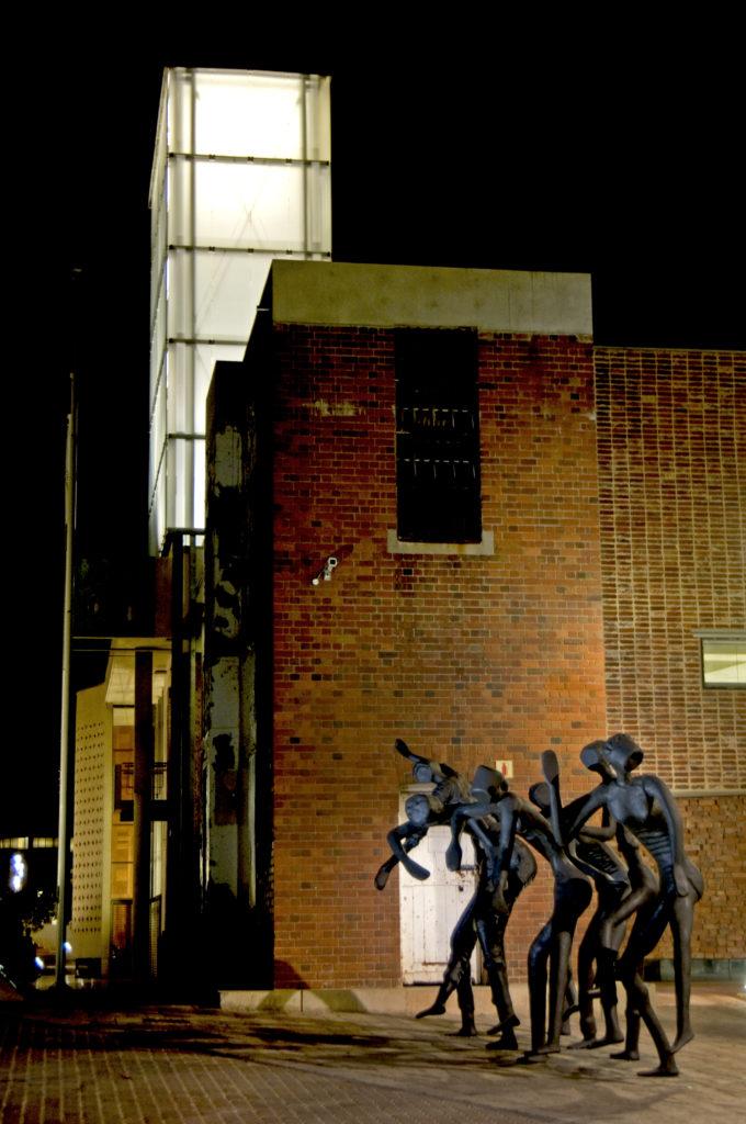 Johannesburg, Gauteng province: The Dancers sculpture on Constitution Hill