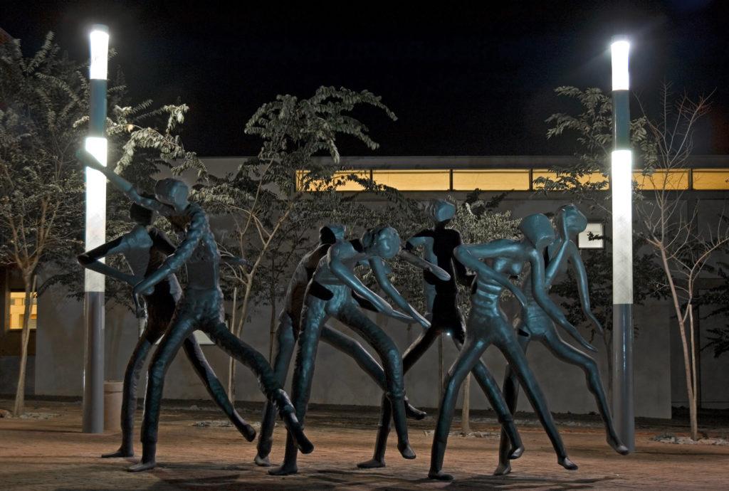 Johannesburg, Gauteng: The Dancers sculpture on Constitution Hill