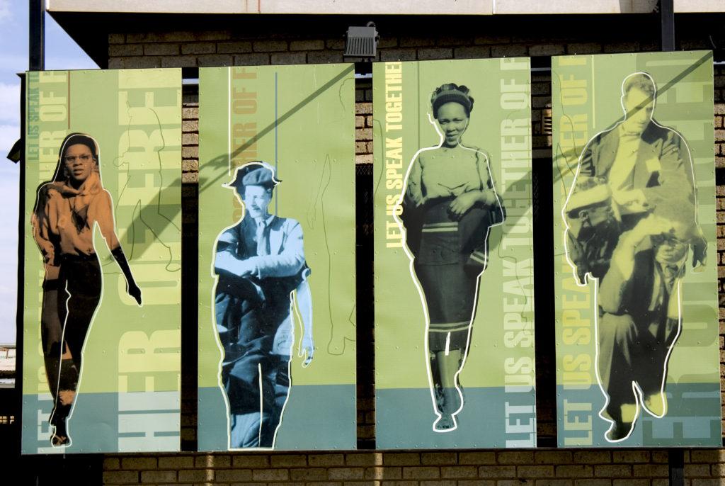 Johannesburg, Gauteng: Artwork at Freedom Square, Kliptown, Soweto