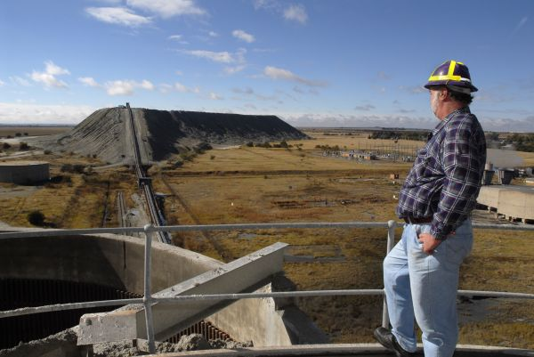 Welkom, Free State province: Harmony Gold Mine